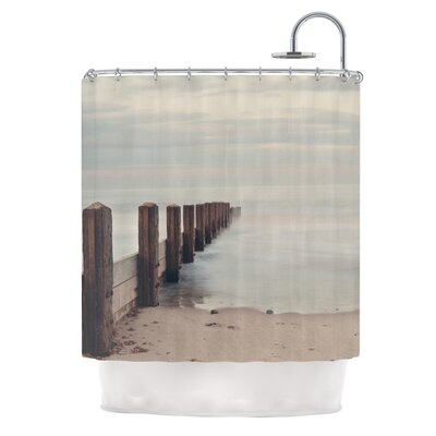 Brush Strokes by Laura Evans Shower Curtain