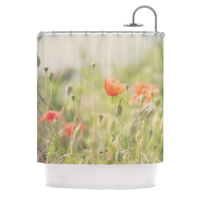 Fields of Remembrance by Laura Evans Shower Curtain