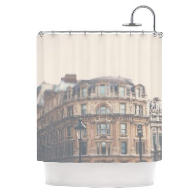 London Town by Laura Evans Shower Curtain