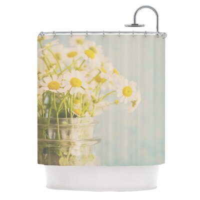 O Daisy by Laura Evans Shower Curtain