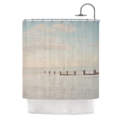 The Rising Tide by Laura Evans Shower Curtain