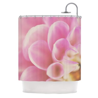 Up Close & Personal by Laura Evans Floral Shower Curtain
