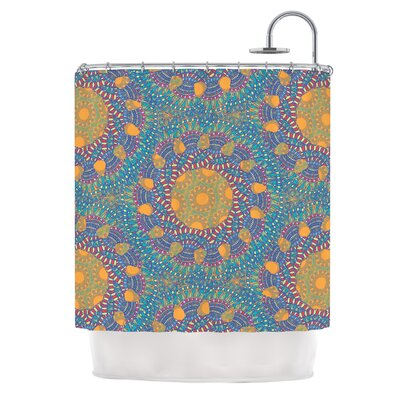 Prismatic by Miranda Mol Abstract Shower Curtain
