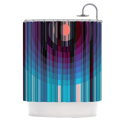 Nova Sun by Nina May Geometric Shower Curtain