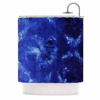 Saltwater Diamond by Nina May Shower Curtain