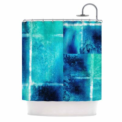 Saltwater Study by Nina May Shower Curtain