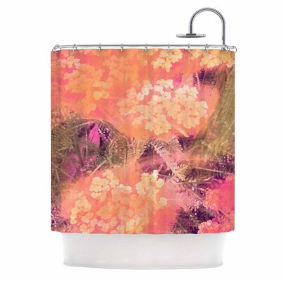 Yellow Wildflowers by Nina May Shower Curtain