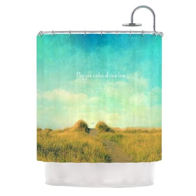 May Your Wishes by Robin Dickinson Shower Curtain