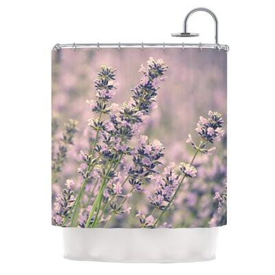 Smell the Flowers by Robin Dickinson Shower Curtain