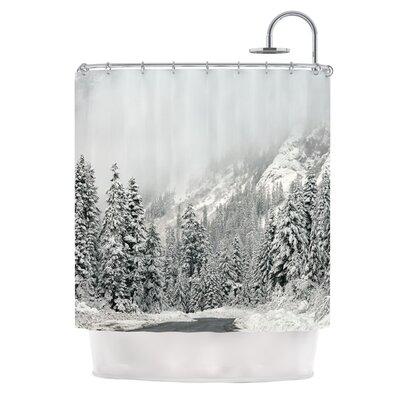 Winter Wonderland by Robin Dickinson Shower Curtain