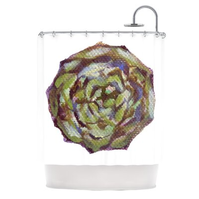 Artichoke by Theresa Giolzetti Shower Curtain