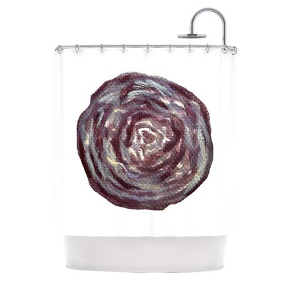Cabbage by Theresa Giolzetti Shower Curtain