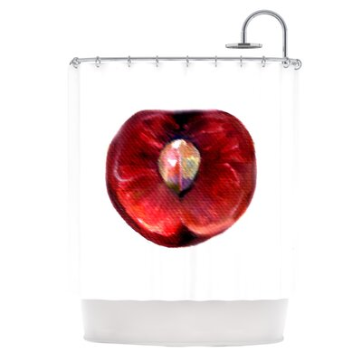 Cherry by Theresa Giolzetti Shower Curtain