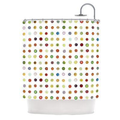 Fruit by Theresa Giolzetti Food Painting Shower Curtain