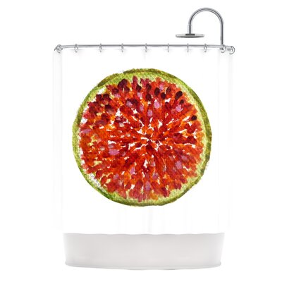 Passion Fruit by Theresa Giolzetti Shower Curtain