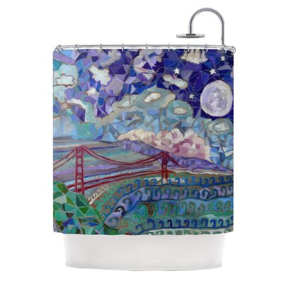 San Fran by Theresa Giolzetti Shower Curtain
