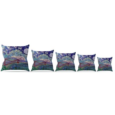 San Fran Throw Pillow Size: 20 H x 20 W x 4 D