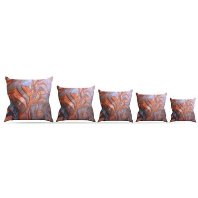 Seaweed Throw Pillow Size: 16 H x 16 W x 3 D