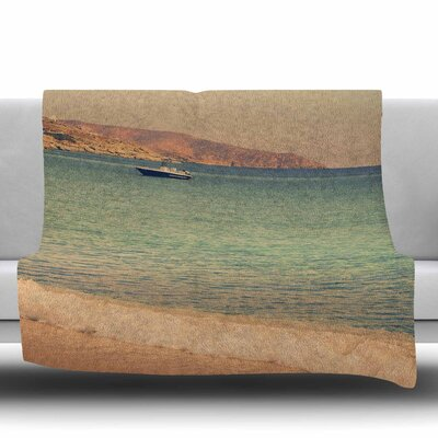 Drifting by Fleece Throw Blanket Size: 40 L x 30 W