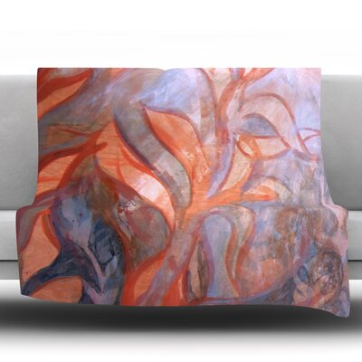 Seaweed Fleece Throw Blanket Size: 60 L x 50 W