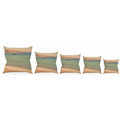 Drifting By Throw Pillow Size: 16 H x 16 W x 3 D