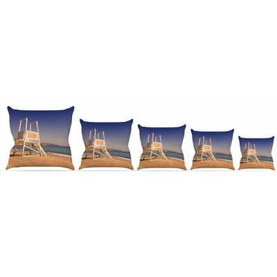 Life Tower Throw Pillow Size: 18 H x 18 W x 3 D