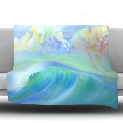 Jelly Fish Fleece Throw Blanket Size: 60 L x 50 W