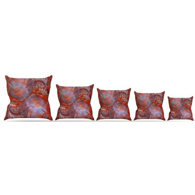 Seaweed Throw Pillow Size: 26 H x 26 W x 5 D