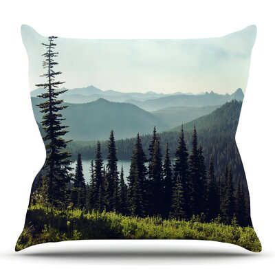 Discover Your Northwest Throw Pillow Size: 16 H x 16 W x 3 D