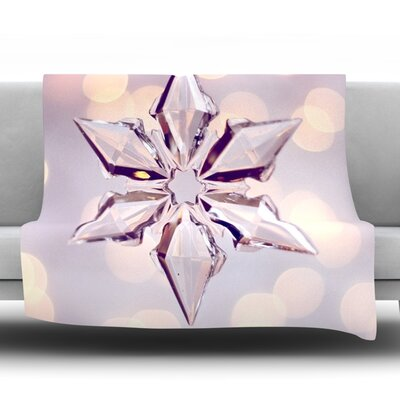 Starbright Fleece Throw Blanket Size: 40 L x 30 W