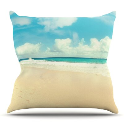Beach Time Throw Pillow Size: 26 H x 26 W x 5 D