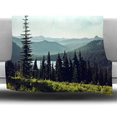 Discover Your Northwest Fleece Throw Blanket Size: 40 L x 30 W
