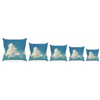 Snow Geese Throw Pillow Size: 18 H x 18 W x 3 D