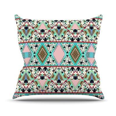 Deco Hippie Outdoor Throw Pillow