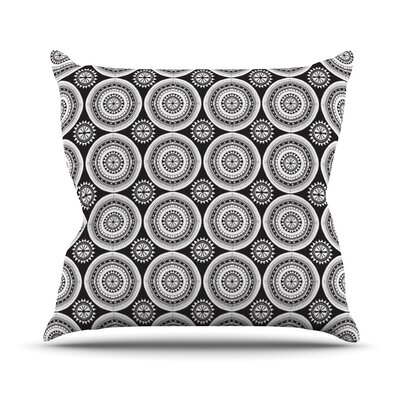 Circles Outdoor Throw Pillow