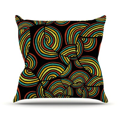 Infinite Depth Outdoor Throw Pillow