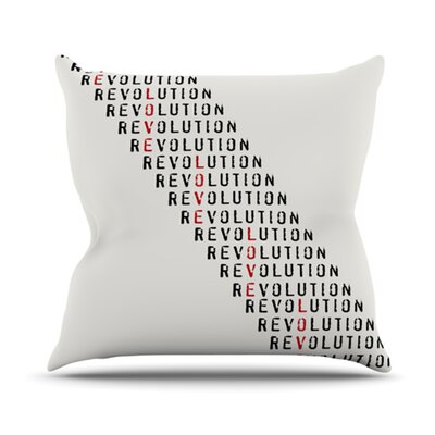 Revolution Outdoor Throw Pillow