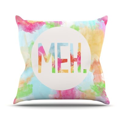 Meh Outdoor Throw Pillow