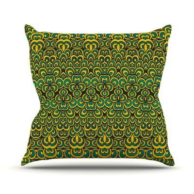 Animal Temple II Outdoor Throw Pillow