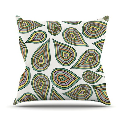 Its Raining Leaves Outdoor Throw Pillow
