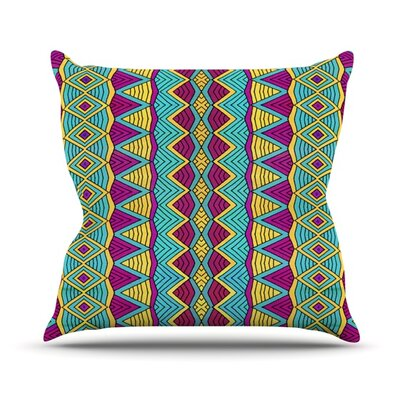 Tribal Soul II Outdoor Throw Pillow