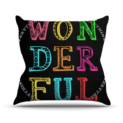 Wonderful Outdoor Throw Pillow