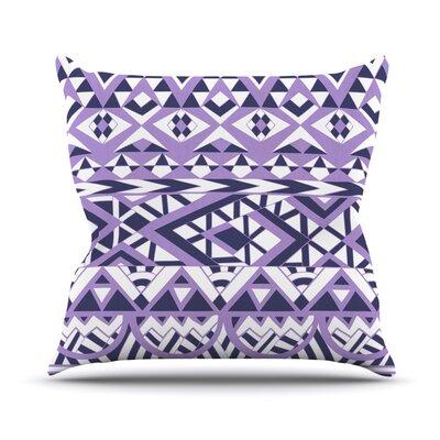 Tribal Simplicity II Outdoor Throw Pillow