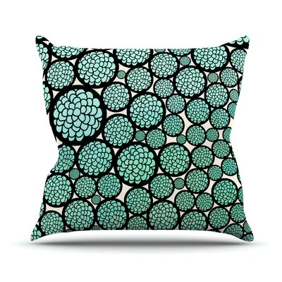 Blooming Trees Outdoor Throw Pillow