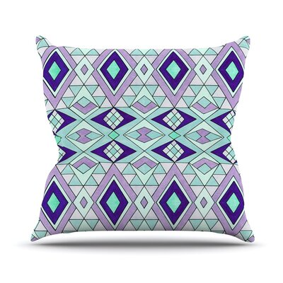 Gems Outdoor Throw Pillow