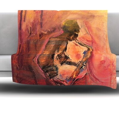 Catch the Wind by Josh Serafin Fleece Blanket Size: 60 L x 50 W