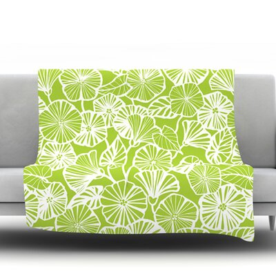 Vine Shadow by Jacqueline Milton 60 Fleece Blanket