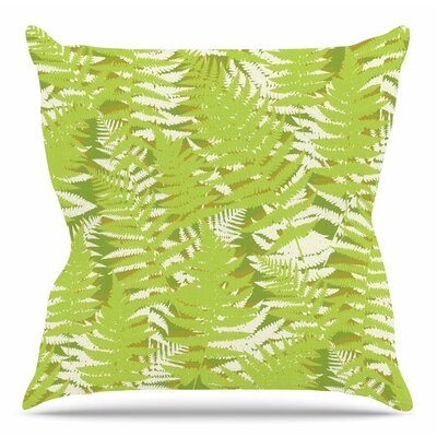 Fun Fern by Jacqueline Milton 26 Throw Pillow