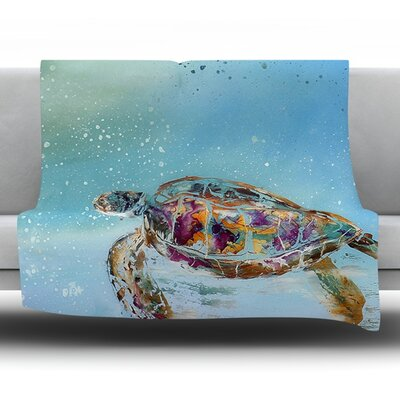 Home Sweet Home by Josh Serafin Fleece Blanket Size: 40 L x 30 W