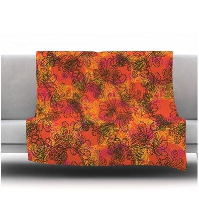 Jaipur by Patternmuse 30 Fleece Blanket